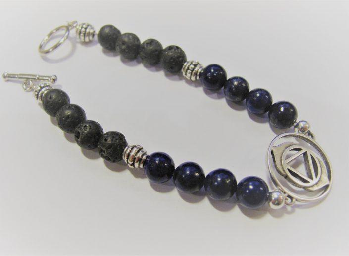 chakra armband 3e oog lapis lazuli